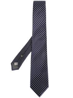 галстук с узором в горох Canali