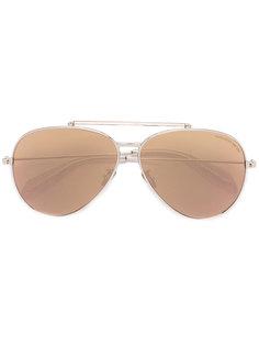 """солнцезащитные очки """"авиаторы"""" Piercing Shield Alexander McQueen"""