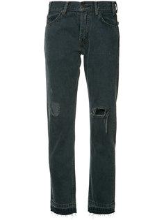 прямые джинсы с рваными деталями Levis Levis®