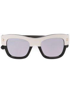 двухцветные солнцезащитные очки  Stella McCartney