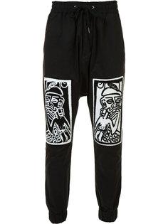 спортивные брюки с принтом Haculla