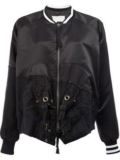 лоскутная куртка-бомбер  Greg Lauren