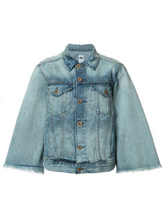 flared sleeve denim jacket  NSF