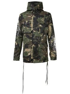 камуфляжное пальто Haculla