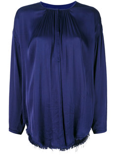блузка с оборками  Raquel Allegra