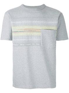 футболка с нагрудным карманом Coohem