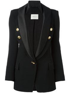 пиджак с атласными лацканами Pierre Balmain