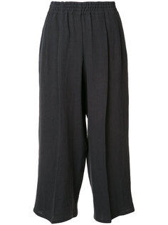 cropped linen trousers  Dusan