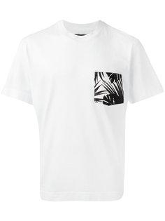 футболка с накладным карманом Hydrogen