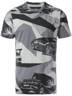 футболка с камуфляжным рисунком Hydrogen
