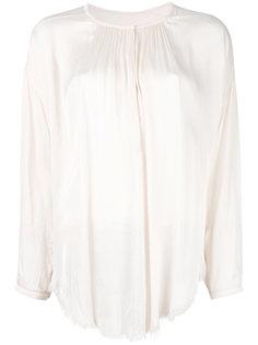 блузка с необработанными краями Raquel Allegra