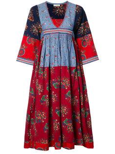 V-neck embroidered midi dress Ulla Johnson