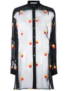 прозрачная рубашка  Mikio Sakabe