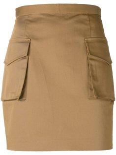 мини юбка Military Dsquared2