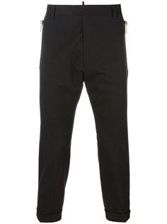 укороченные зауженные брюки Dsquared2