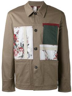 куртка в стиле пэчворк Antonio Marras