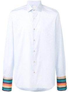 рубашка с полосатыми манжетами Paul Smith