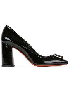 туфли на массивном каблуке  Baldinini