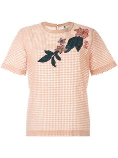футболка с панельным дизайном Ps By Paul Smith
