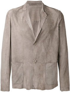 кожаный пиджак Salvatore Santoro