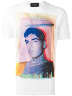 футболка с фотопринтом Dsquared2