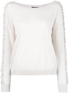 блузка с оборками  Twin-Set