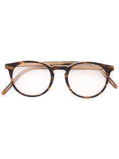 очки в круглой оправе Tomas Maier