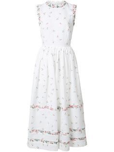 floral print flared dress Emilia Wickstead