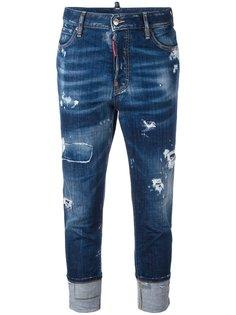 укороченные джинсы London Dsquared2