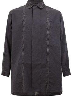 рубашка с потайной пуговичной планкой Uma Wang