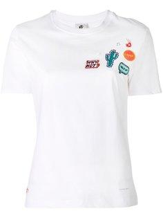 футболка с нашивками Ps By Paul Smith