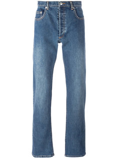 washed effect jeans A.P.C.