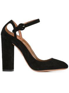 туфли на устойчивом каблуке Aquazzura