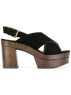 туфли с ремешками крест-накрест LAutre Chose