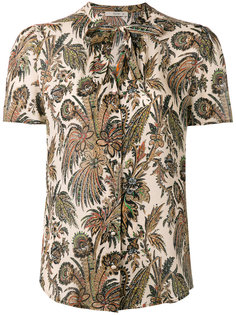 блузка с цветочным узором Etro