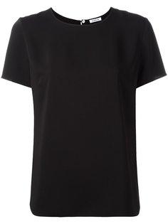 "футболка с вырезом ""замочная скважина"" P.A.R.O.S.H."