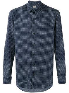 рубашка с мелким узором Armani Collezioni