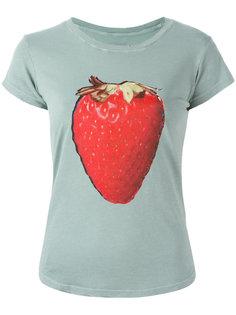 футболка с принтом клубники Zadig & Voltaire