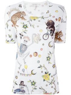 футболка с принтом Zadig & Voltaire