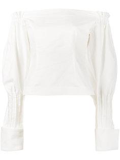 блузка с открытыми плечами Jacquemus