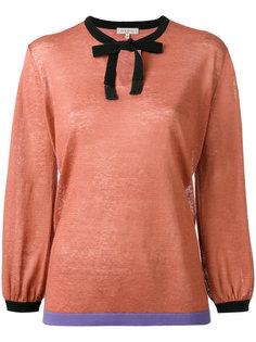 блузка с бантом Etro