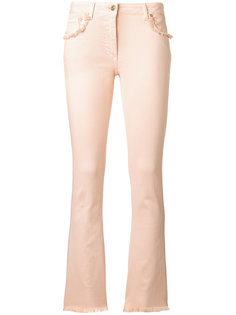 джинсы с оборками на карманах Etro
