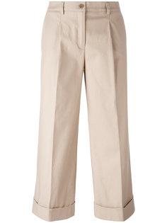 укороченные широкие брюки P.A.R.O.S.H.