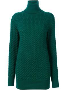 удлиненный свитер с высоким горлом Dolce & Gabbana