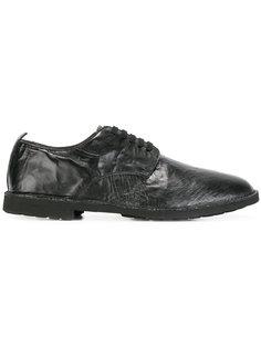 ботинки-дерби с мятым эффектом Rocco P.