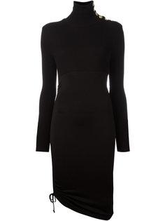 асимметричное облегающее платье Pierre Balmain