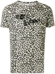 футболка с леопардовым принтом   Marc Jacobs