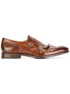 ботинки-монки с перфорацией Henderson Baracco