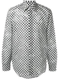 рубашка в клетку  Marc Jacobs