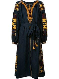 платье с поясом и кисточками Vita Kin
